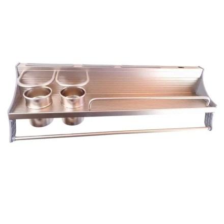 WillieJan Keukenrek 5155B - Champagne kleur - Aluminium