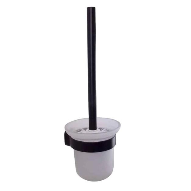 WillieJan Toiletborstel 66906 - Muurbevestiging - Aluminium - Zwart