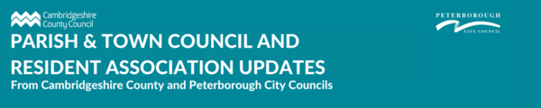Parish & Town Council and Resident Association updates banner