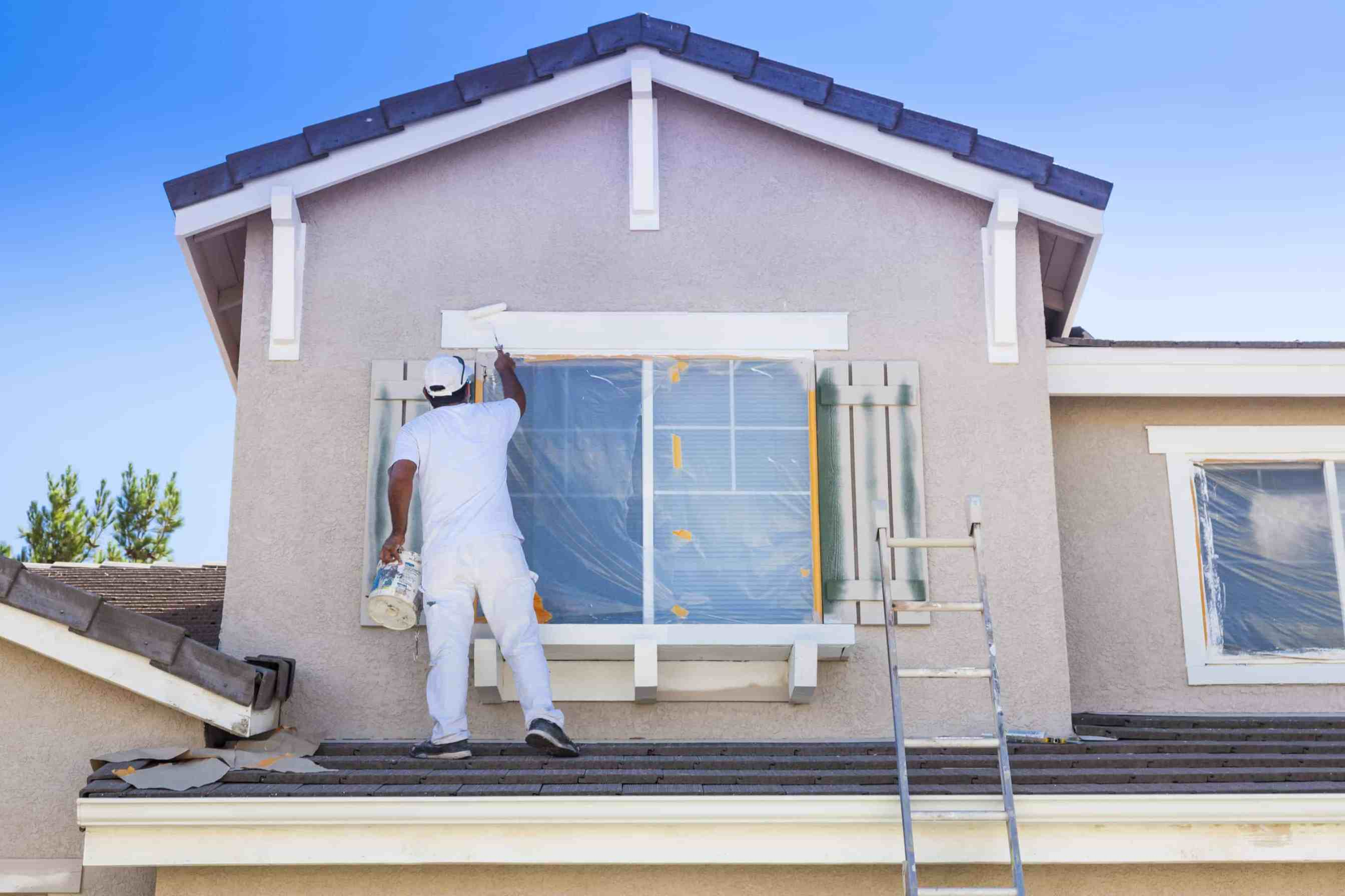 Stucco Painting Company Jacksonville Fl Reliable House Painter