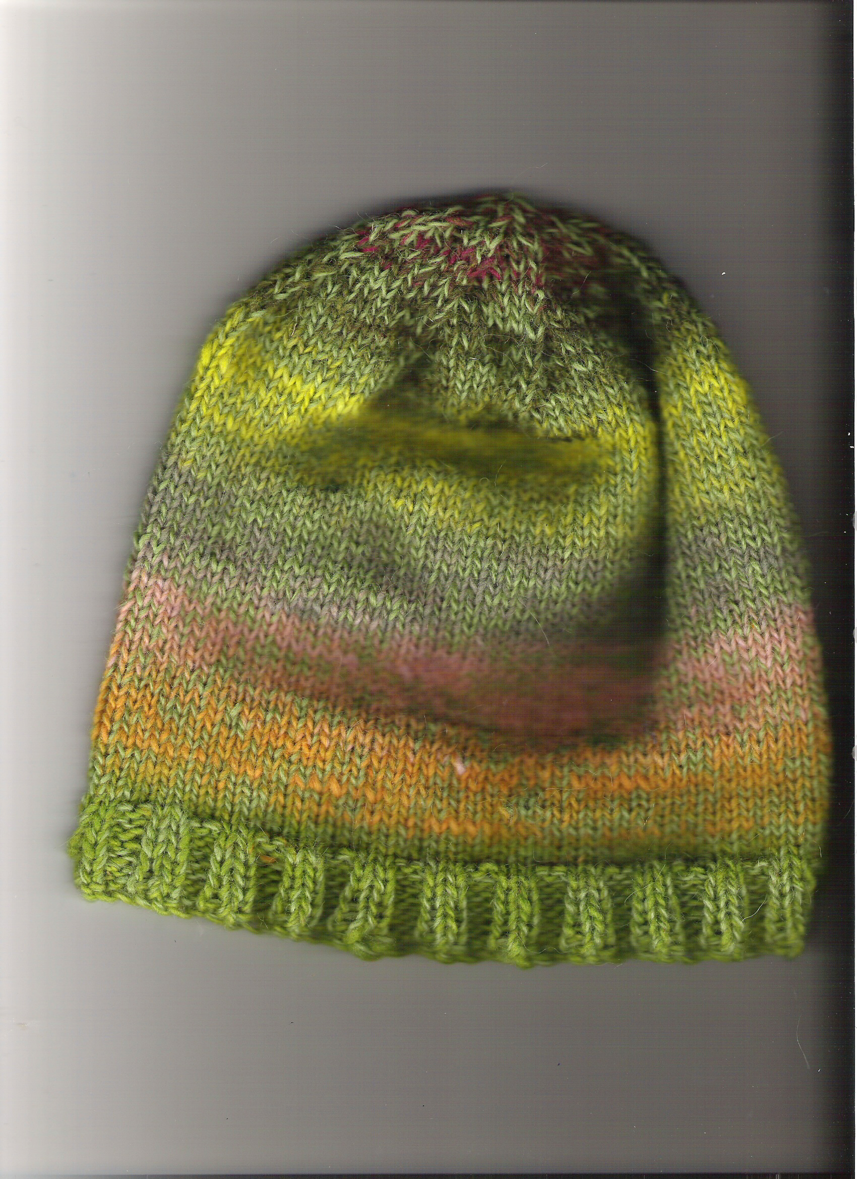 Another hat knit with Noro and Lodband