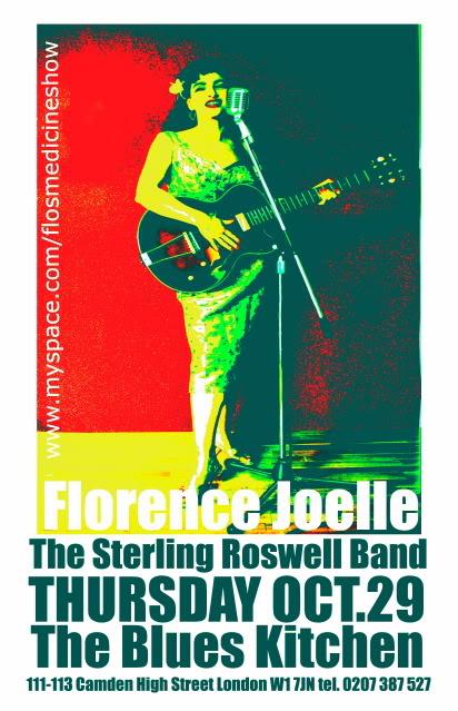 BluesKitchenFlyerOct09 from the Shoreditch Sisters W.I. Florence Joelle