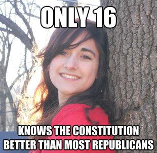 Jessica Ahlquist, Patriot