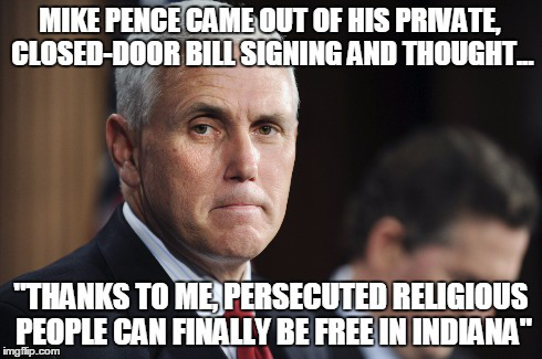 Persecuted Pence