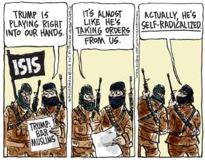 ISIS Loves Drumpf