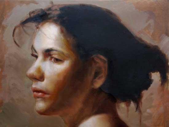 Will Kemp Artist head study