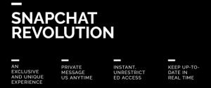 Snapchat Revolution