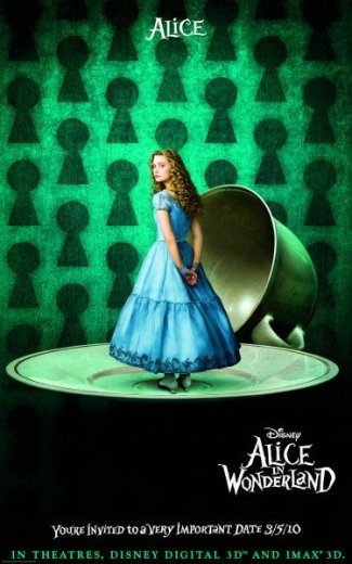 Alice in Wonderland - Alice, Promotional Image