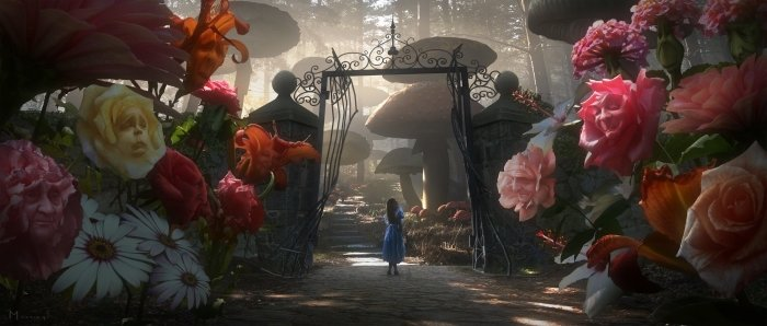 Review: Alice in Wonderland (2010) [Gallery]