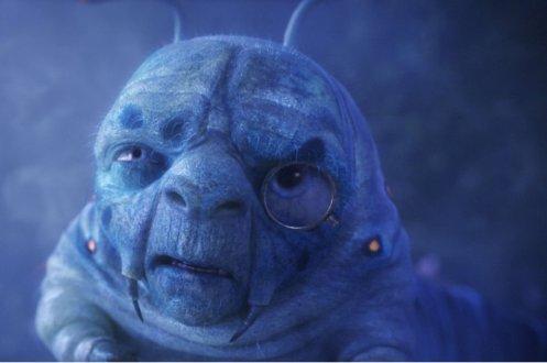Alice in Wonderland - Blue Caterpillar