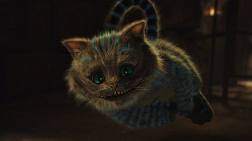 Alice in Wonderland - Cheshire Cat, Floating