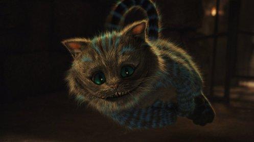 Alice in Wonderland - Cheshire Cat, Floating