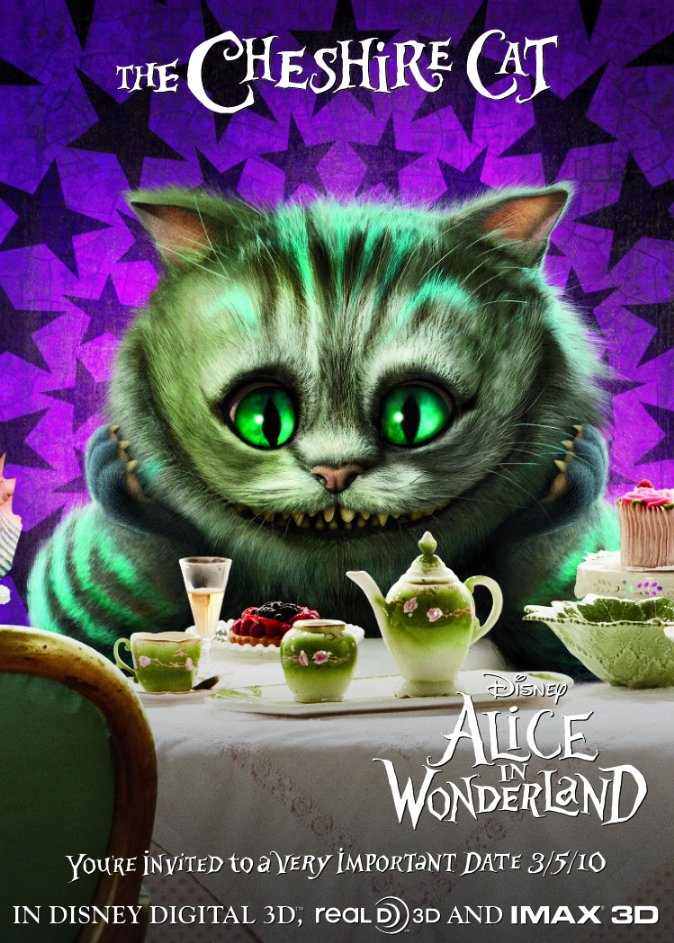 Alice in Wonderland - Cheshire Cat, Promotional Image