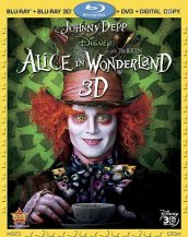 Alice in Wonderland Cover (Blu-Ray 3D)