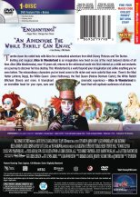Alice in Wonderland Cover (DVD, Back)