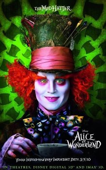 Alice in Wonderland - Mad Hatter, Promotional Image