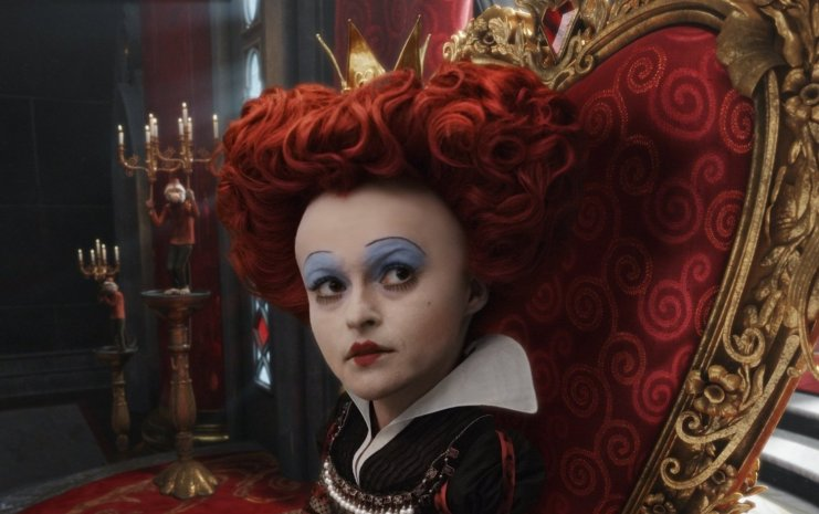 Alice in Wonderland - Red Queen, on Her Throne
