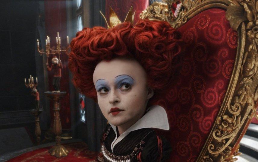 Alice in Wonderland - Red Queen, on Her Throne