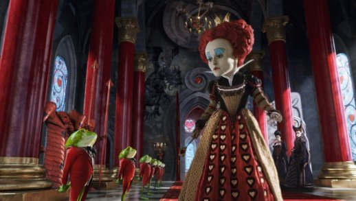 Alice in Wonderland - Red Queen, with Frog Footmen