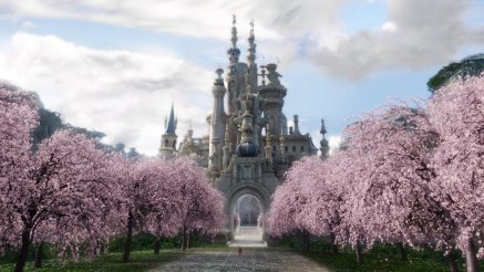 Alice in Wonderland - Scenery, White Queen's Castle