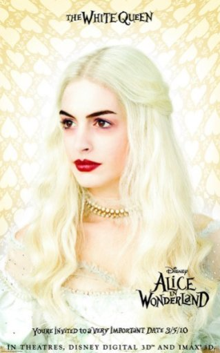 Alice in Wonderland - White Queen, Promotional Image