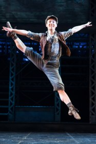 Hogan Fulton in Newsies (Matthew Murphy)