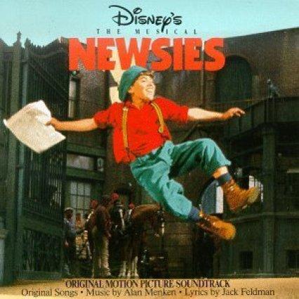 Newsies - CD Cover