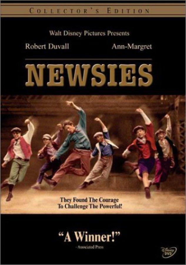 Newsies - DVD Cover