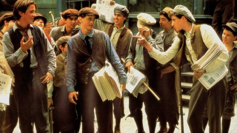Newsies - Jack, Davey, Crutchie, and Others