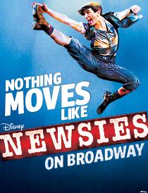 Newsies Poster (IBDB)