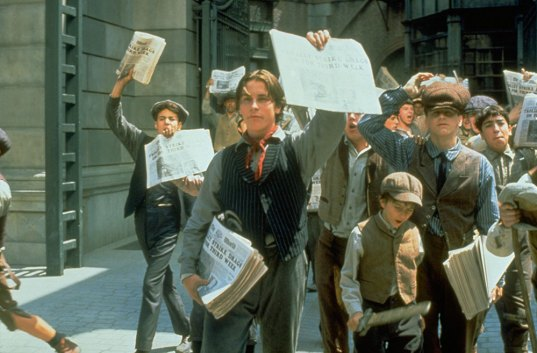 Newsies - Striking (OhMyDisney)