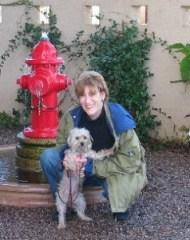 Frankie & me in Scottsdale