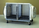 Three types of cage dryers