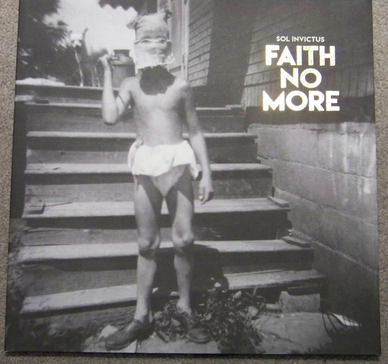 Faith No More Sol Invictus vinyl album cover