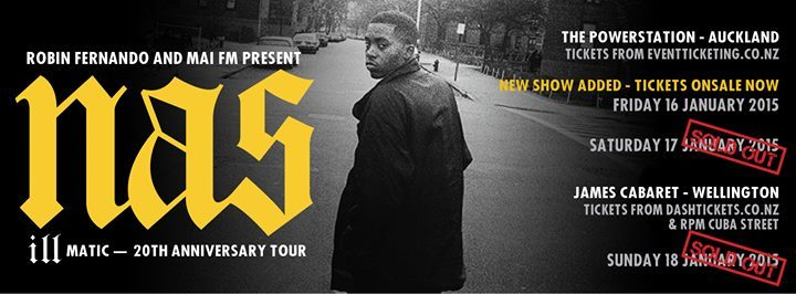 Nas Wellington James Cabaret Illmatic Poster