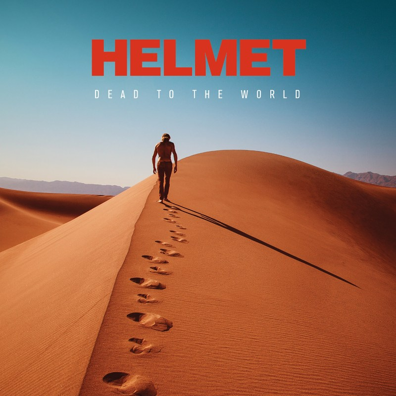 Helmet Dead to the world review album cover