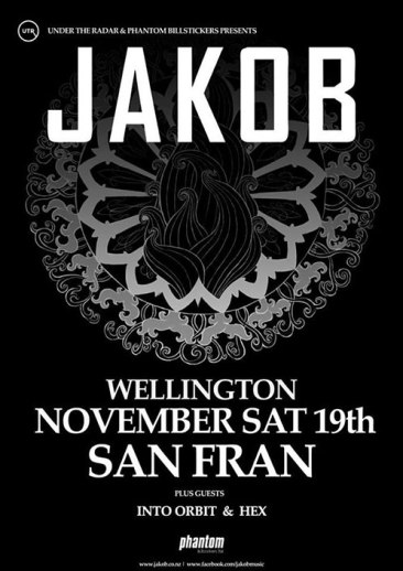 Jakob Into Orbit Hex San Fran Wellington