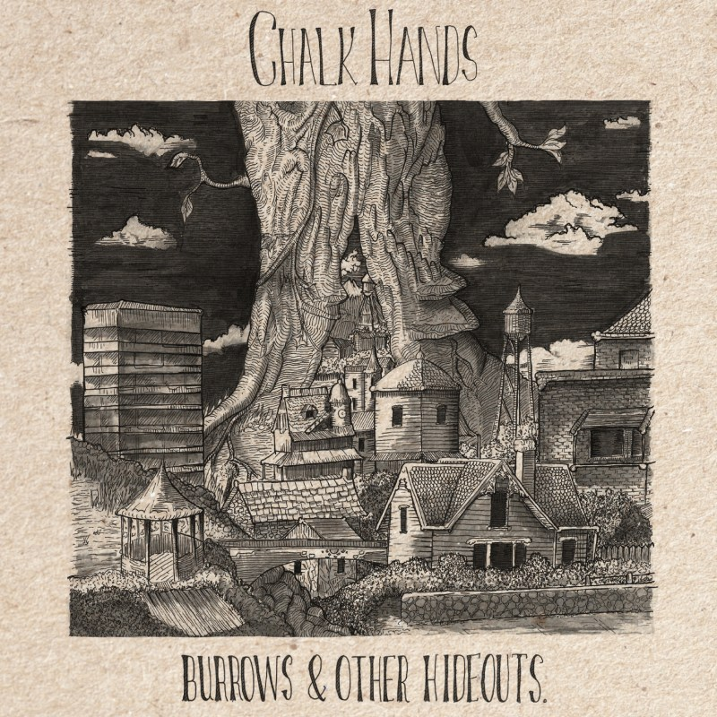 Chalk Hands Burrows and Other Hideouts Cover