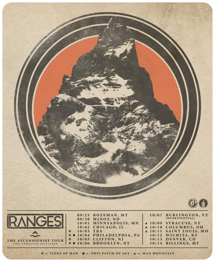 Ranges The Ascensionist Tour