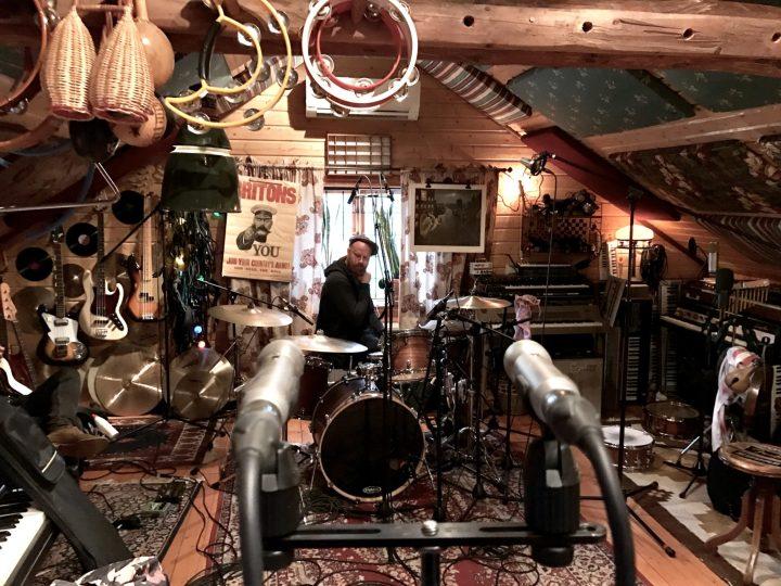 Teller -Gustav Recording Drums
