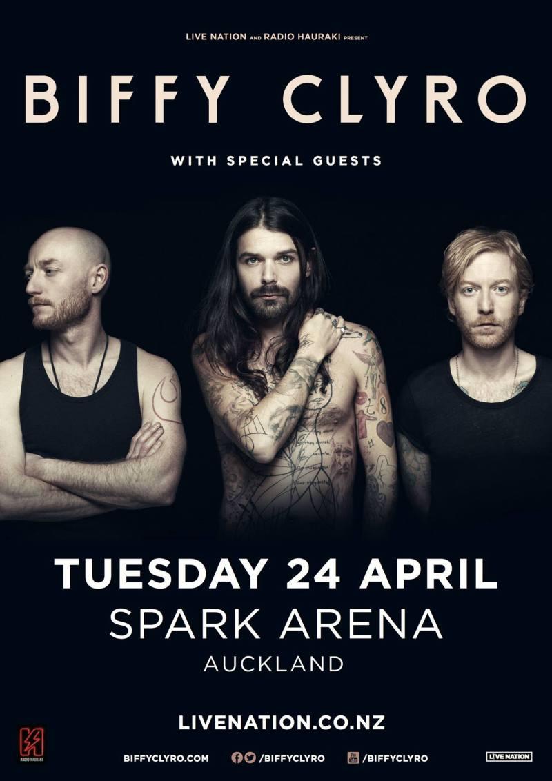 Biffy Clyro Spark Arena