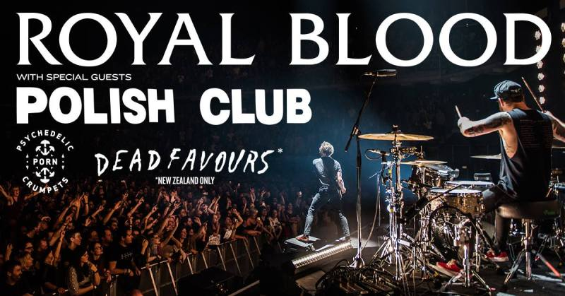 Royal Blood Wellington