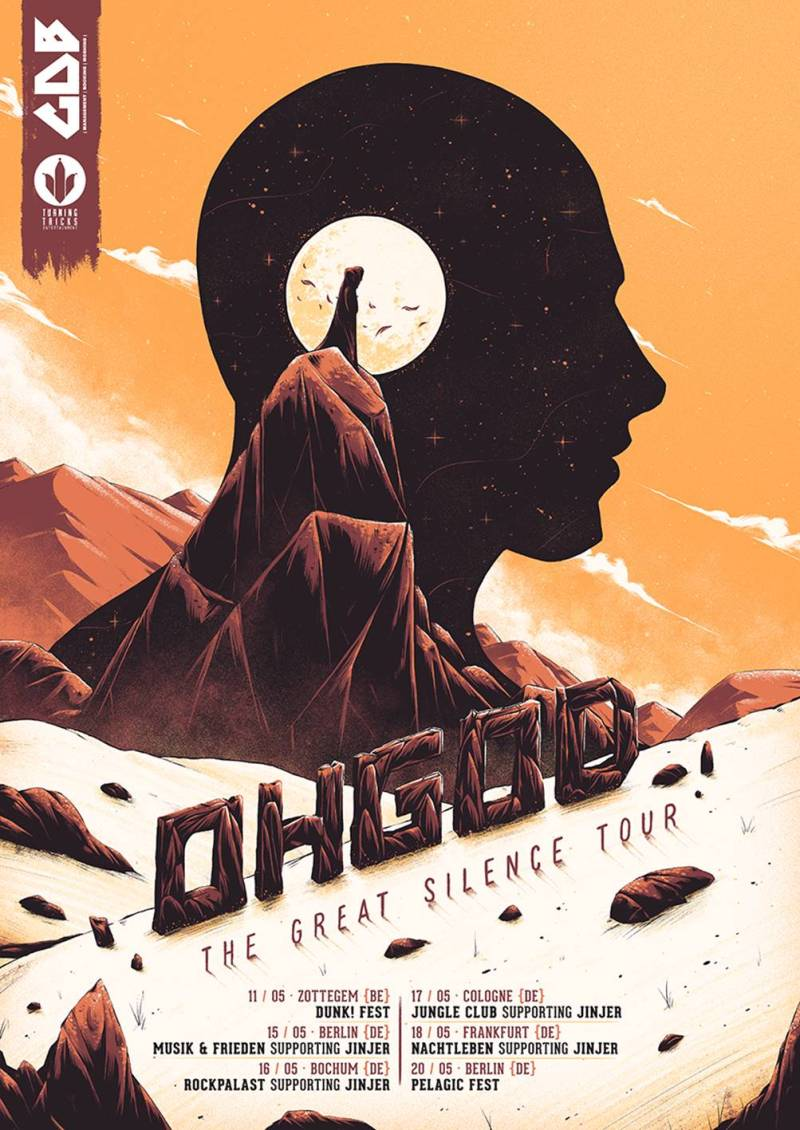 OHGOD Great Silence Tour Poster
