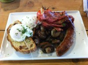 Full Breakfast with Poached