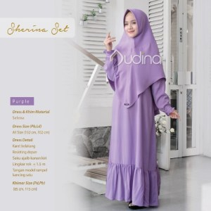 Sherina Set Purple