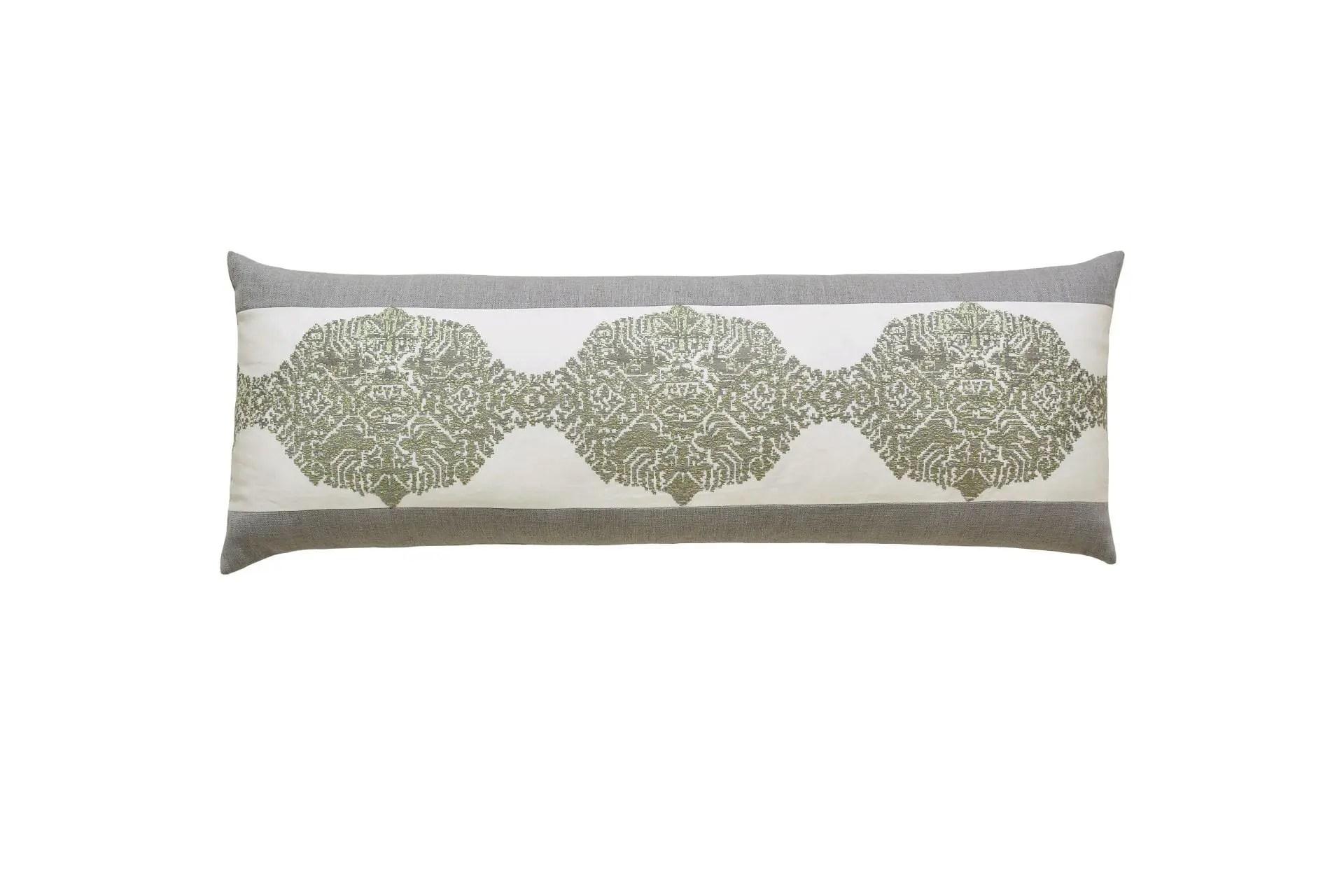 sage green lumbar pillow online