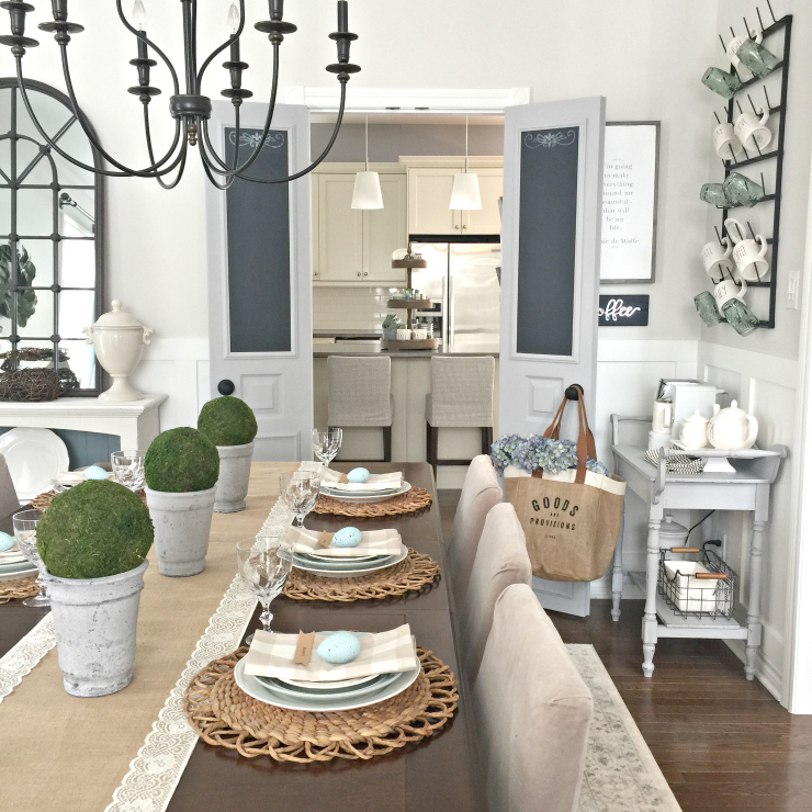 Cute Coffee Bar In Any Space, Dining Room Bar