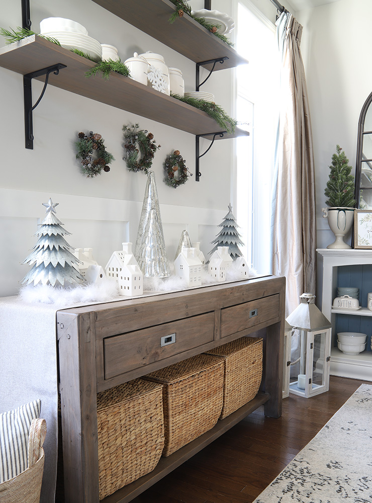 Christmas Decor Details To Add To Your Dining Room Willow Bloom Home