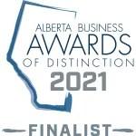 Alberta Business Awards of Distinction 2021 Finalist