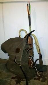 Takedown Recurve Bow & Arrows in the WillowHavenOutdoor Utforska Bushcraft Pack